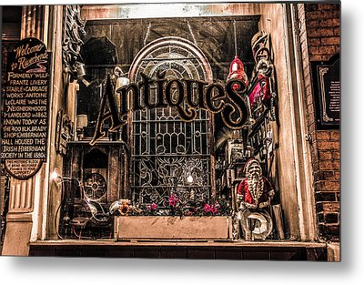 Window In Time Metal Print by Ray Congrove