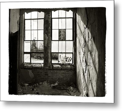 Window Light Metal Print by Tanya Jacobson-Smith