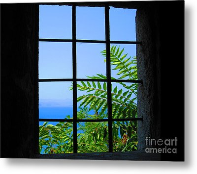 Metal Print featuring the photograph Window Of Hope by Andreas Thust