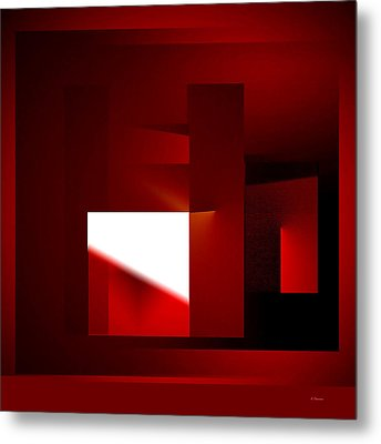 Metal Print featuring the digital art Window Of  Opportunity by Andrew Penman