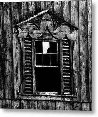 Window Pane Metal Print by Robert Geary