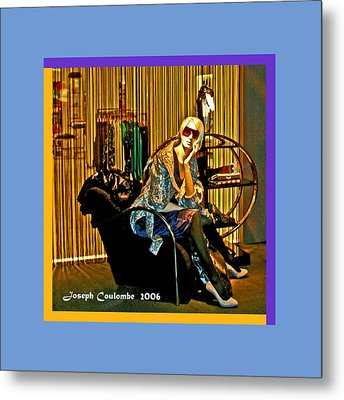 Window Shopping Metal Print by Joseph Coulombe