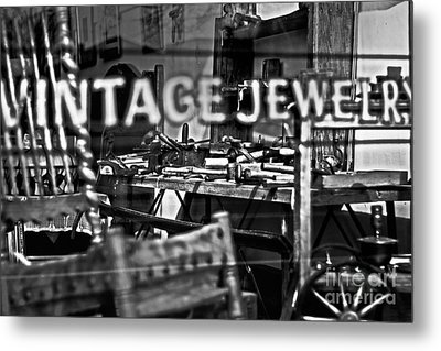 Window Shopping Metal Print by Randall  Cogle