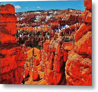 Window To Bryce Metal Print by Benjamin Yeager