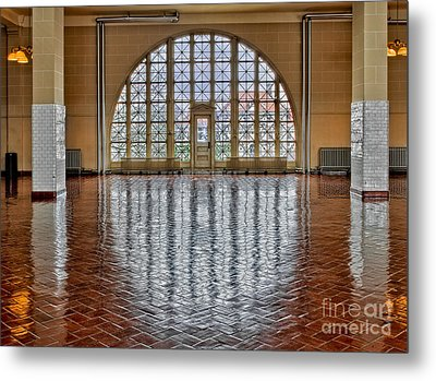 Window To Freedom Metal Print by Susan Candelario