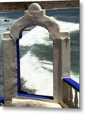 Window To The Ocean Metal Print