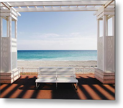 Window To The Sea Metal Print by Paco Palazon