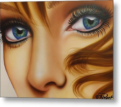 Window To The Soul Metal Print by Darren Robinson