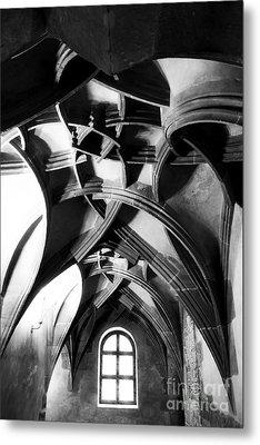 Window View Metal Print by John Rizzuto