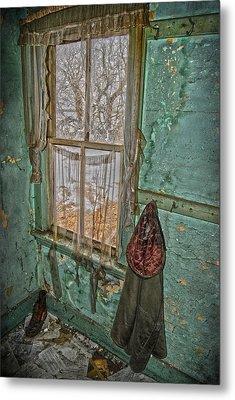 Window Watcher  Metal Print by Empty Wall