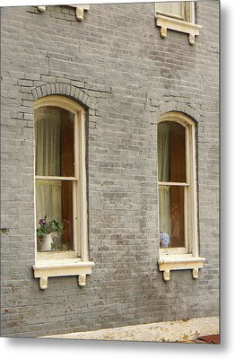 Windows Metal Print by Jean Goodwin Brooks