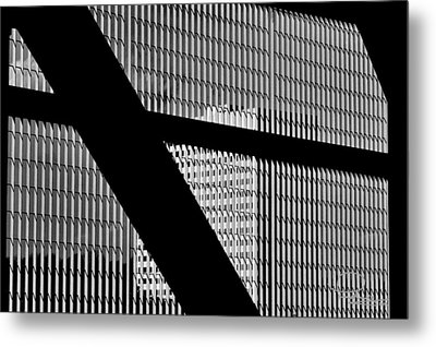 Metal Print featuring the photograph Windows by Ludwig Keck