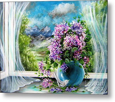 Windows Of My World Metal Print by Patrice Torrillo