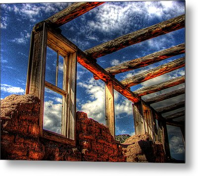 Windows To The Past Metal Print by Timothy Bischoff