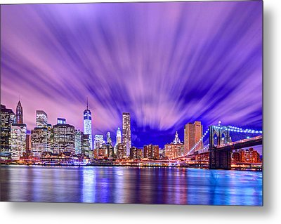 Winds Of Lights Metal Print by Midori Chan