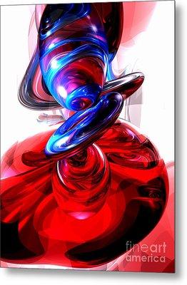 Windstorm Abstract Metal Print by Alexander Butler