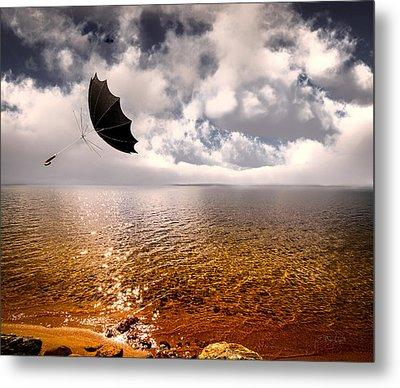 Windy Metal Print by Bob Orsillo