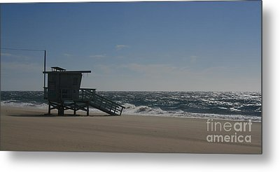 Windy Day At Zuma Metal Print