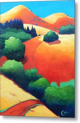 Windy Hill Trip Panel 1 Metal Print