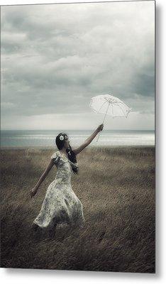 Windy Metal Print by Joana Kruse