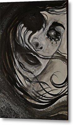 Windyblack Metal Print by Sandro Ramani