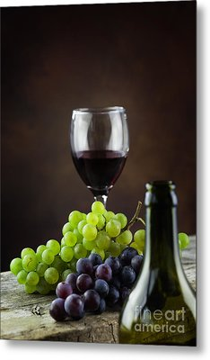 Wine Concept Metal Print by Mythja  Photography