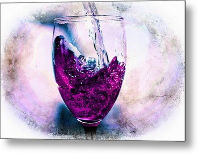 Metal Print featuring the photograph Wine Country by Aaron Berg