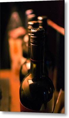 Wine For The Evening Metal Print