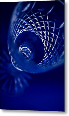 Wine Glass I Metal Print by Natalie Kinnear