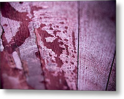 Wine Red Metal Print by Frank Tschakert