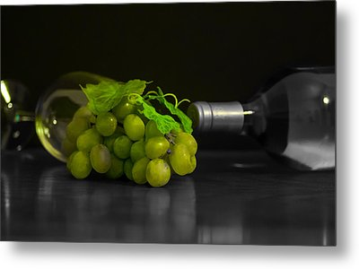 Wine Metal Print by Stephen Smith
