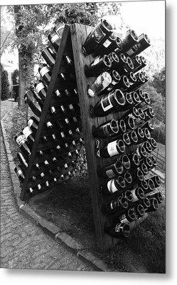 Wine Tasting In Prague Metal Print