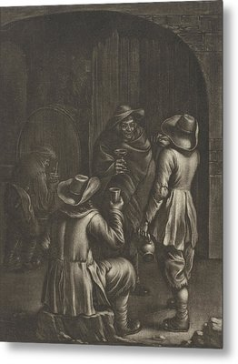 Wine Tasting, Jan Van Somer Metal Print