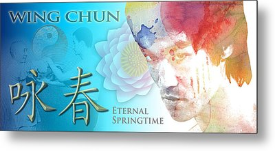 Wing Chun Eternal Springtime Metal Print by Timothy Lowry