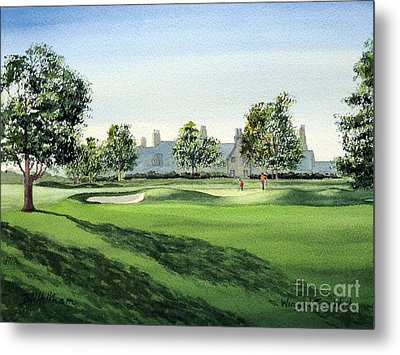 Winged Foot West Golf Course 18th Hole Metal Print