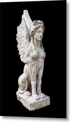 Winged Sphinx Metal Print by Fabrizio Troiani