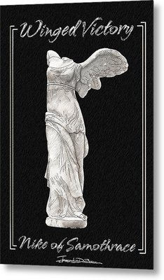 Winged Victory - Nike Of Samothrace Metal Print by Jerrett Dornbusch