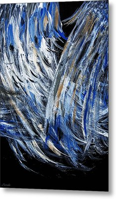 Wings Desired - Sold -original  Oil Painting- Metal Print by Renee Anderson