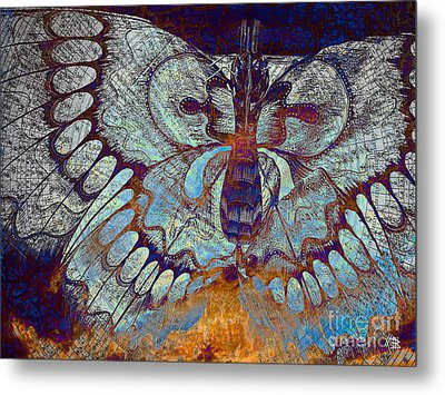 Wings Of Destiny Metal Print