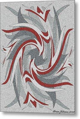Wings Tile 3 Metal Print