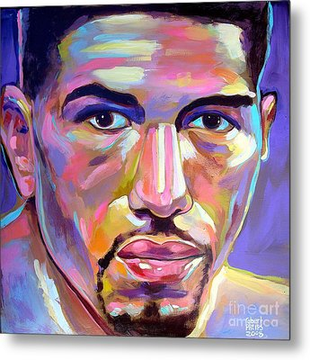 Metal Print featuring the painting Winky Wright by Robert Phelps