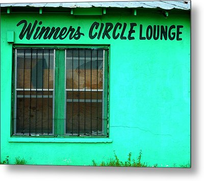 Winner's Circle Lounge Metal Print