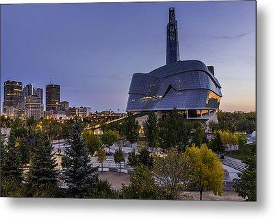 Winnipeg Dawn Metal Print