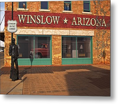 Winslow Arizona Metal Print