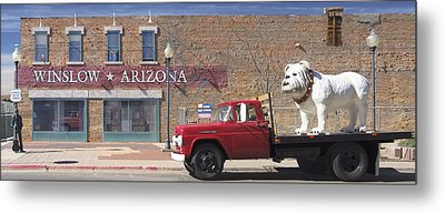 Winslow Arizona Metal Print by Mike McGlothlen