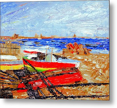 Winter At Provincetown Metal Print