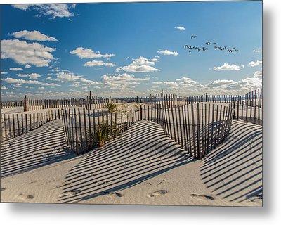 Winter Beach 9528 Metal Print