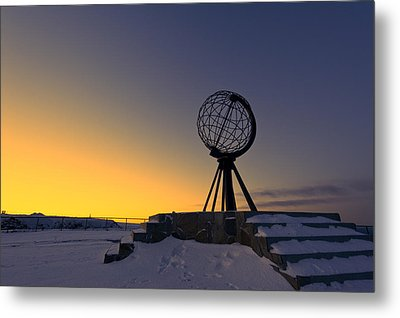 Winter Beyond The Arctic Circle Metal Print by Ulrich Schade