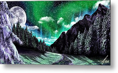 Winter Bliss Metal Print by Anthony Citro