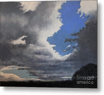 Winter Blues Metal Print by Paul Horton